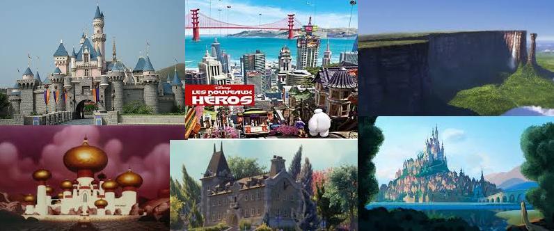 7 мест из мультфильмов, существующих реально