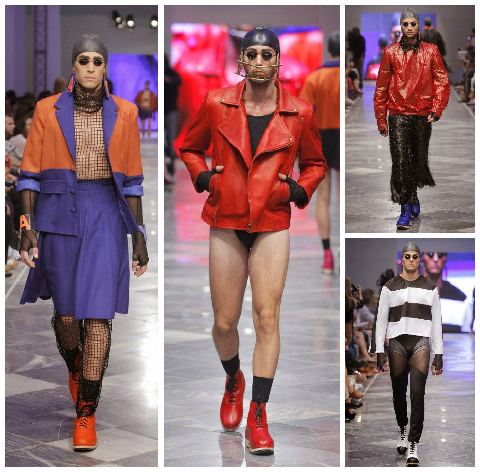 Модные наряды — Anel Yaos Spring/Summer 2015