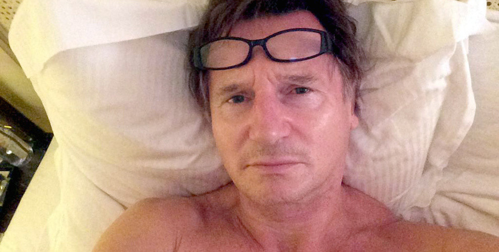 Британские знаменитости фотографируются по утрам