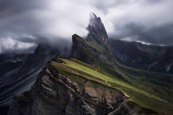 Доломитовые Альпы фотографа Jérôme Berbigier