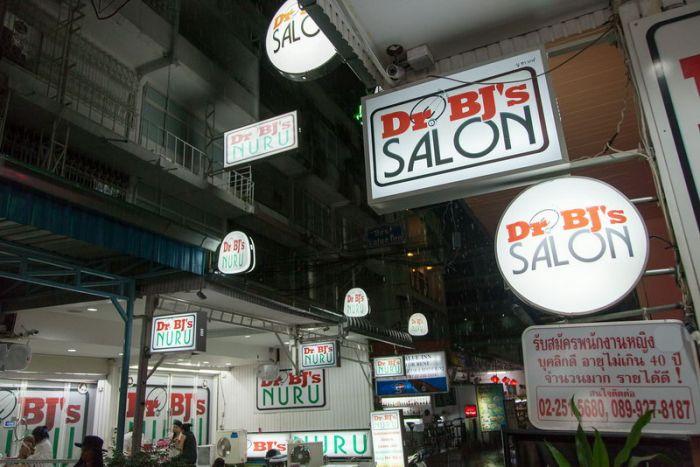 Dr. BJ's Salon — минет-бар в Бангкоке