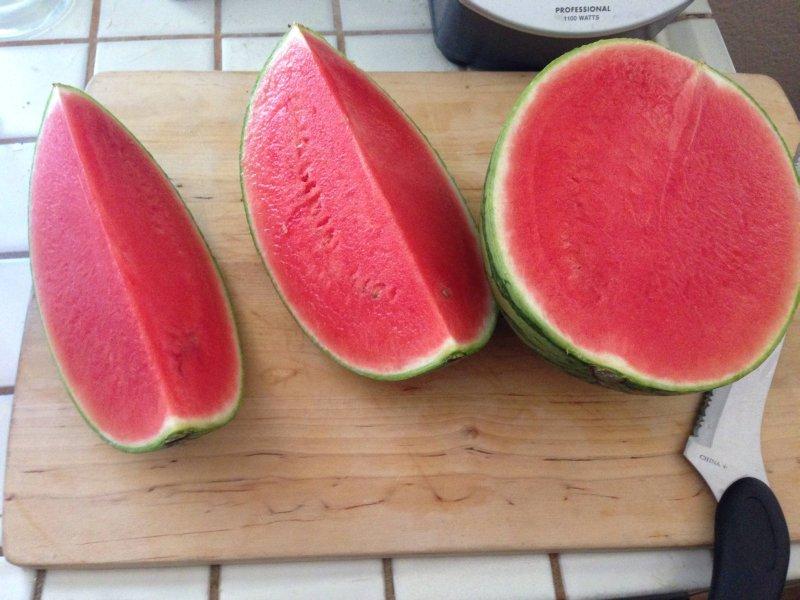 Дульсинея — арбуз без косточек и тонкой кожурой