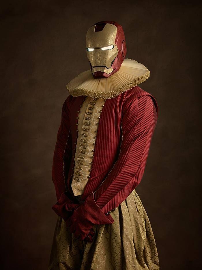 Если герои комиксов жили бы в XVI веке
