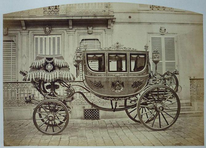 Крутые кареты середины XIX века