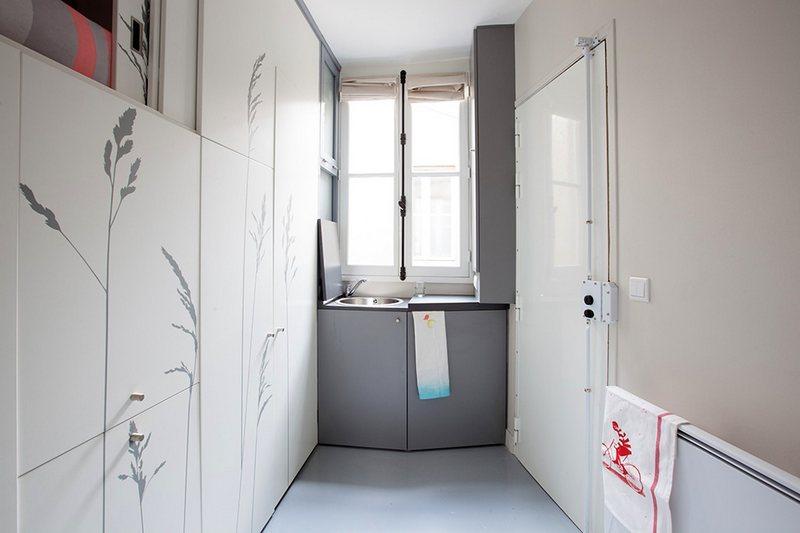 Квартира площадью 8 кв. метров