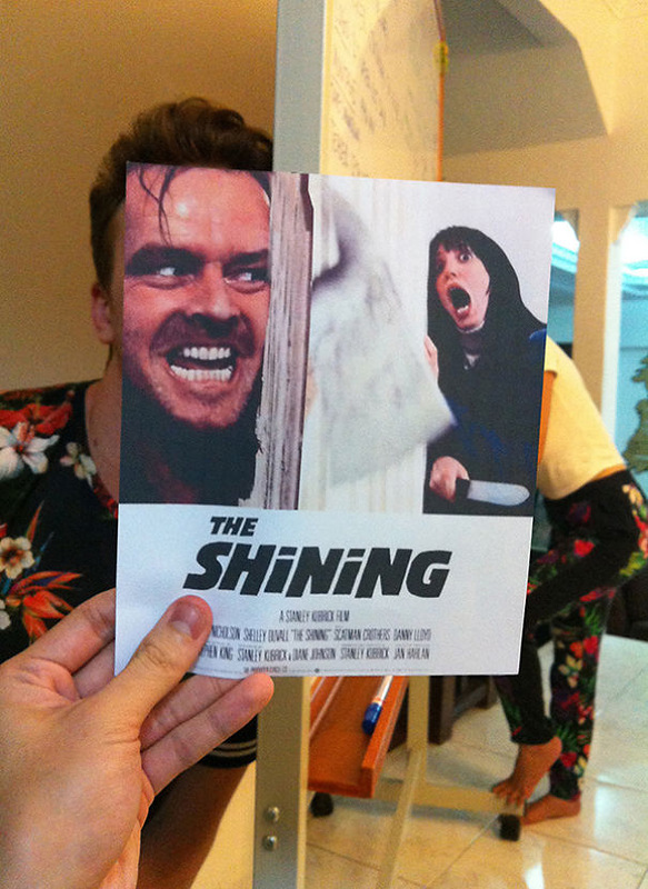 Постеры знаменитых фильмов с реальностью