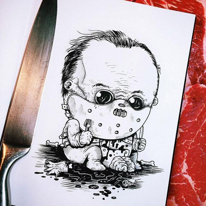 Пугающие младенцы — герои ужастиков
