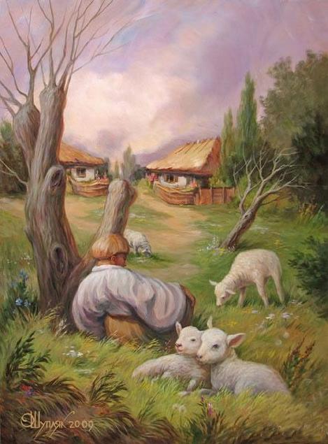 Скрытые лица на полотнах Олега Шупляка