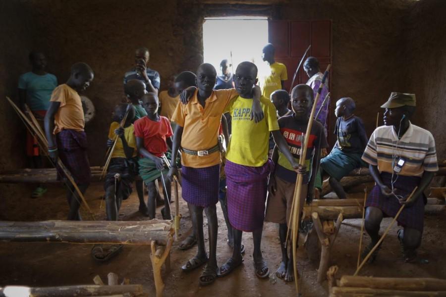 Соревнования по стрельбе из лука в Кении