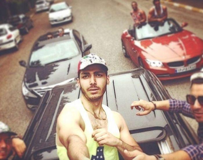Жизнь богатой молодежи Тегерана в фотографиях