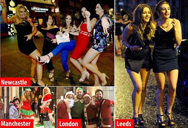 Безумная пятница — Рождественские вечеринки в Англии