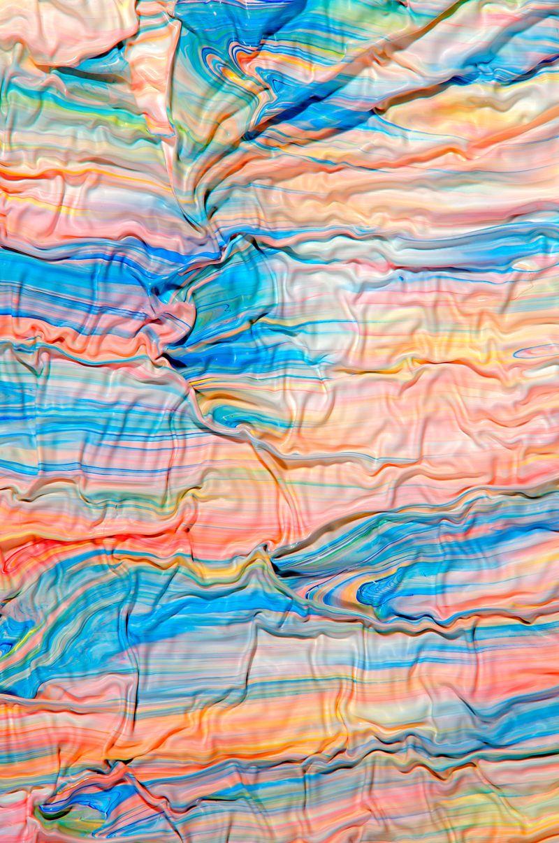 Фотографии смешанной краски как искусство