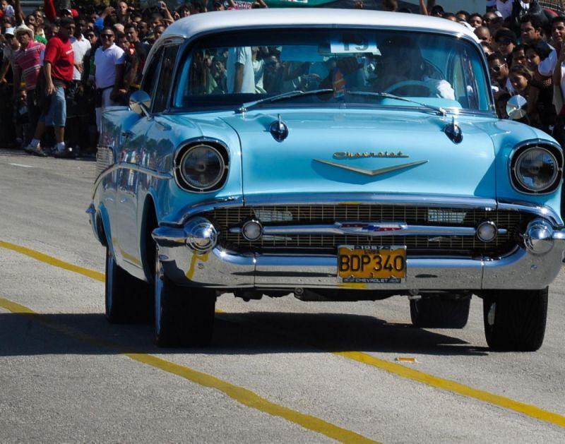 Куба — музей раритетных автомобилей