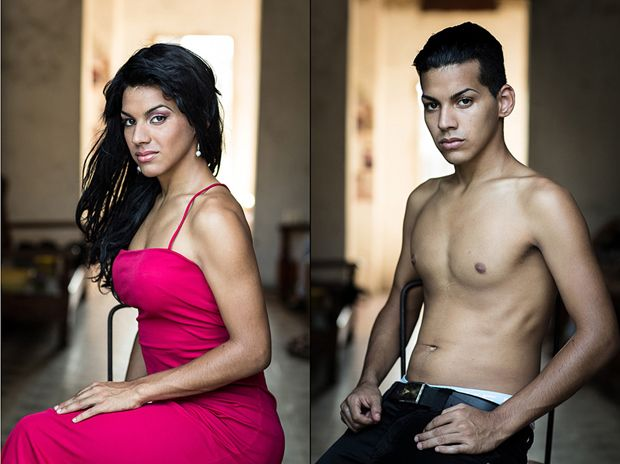 Кубинские трансвеститы фотографа Клаудии Гонсалес