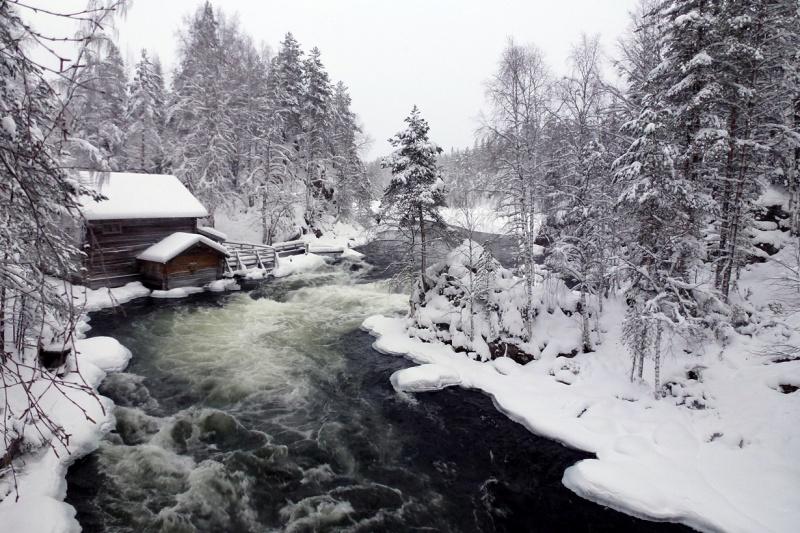 Национальный парк Оуланка в Финляндии