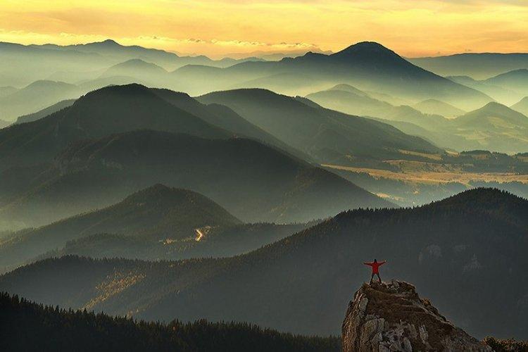 Польские горы от ландшафтного фотографа