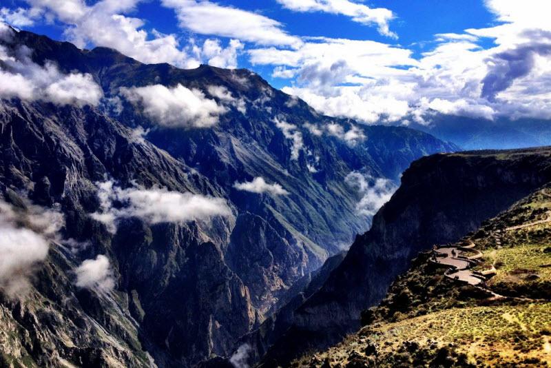 Самый глубокий каньон — Колка