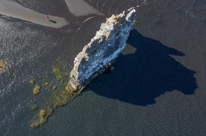 Хвитцеркур — скала на северо-западе Исландии