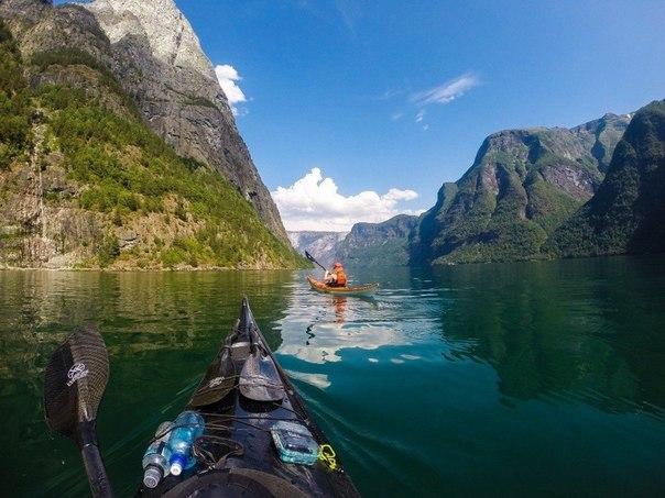 Захватывающие норвежские пейзажи