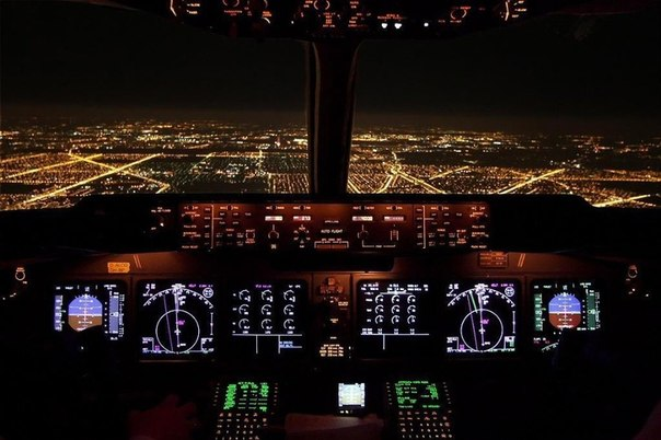 Фотографии, сделанные пилотами из кабин самолетов