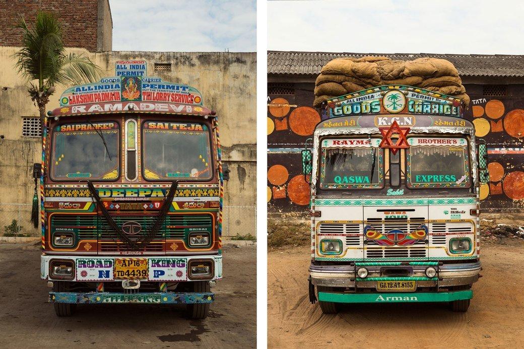 Индийские грузовики и их владельцы