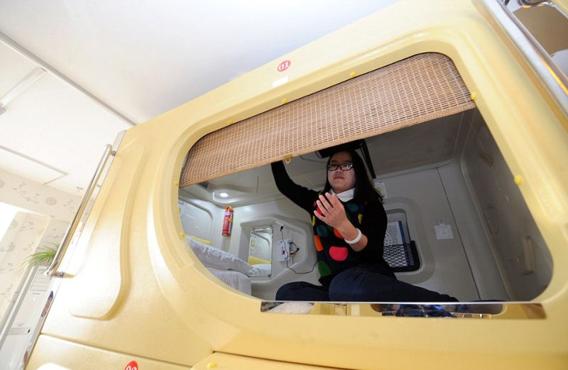 Космическая Капсула — бюджетный вариант переночевать в Китае