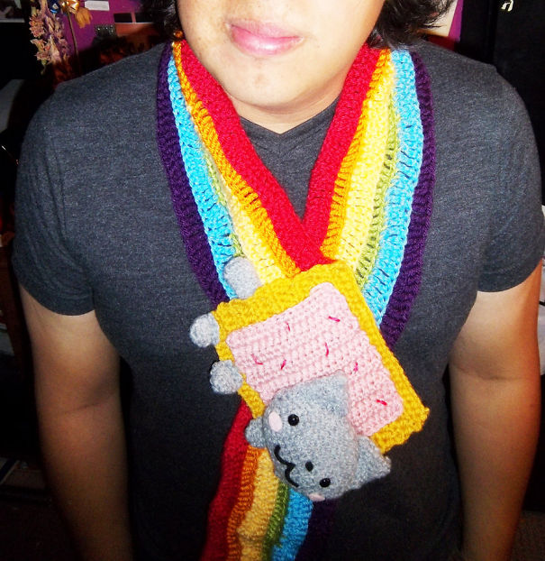 Креативные шарфы поднимут настроение
