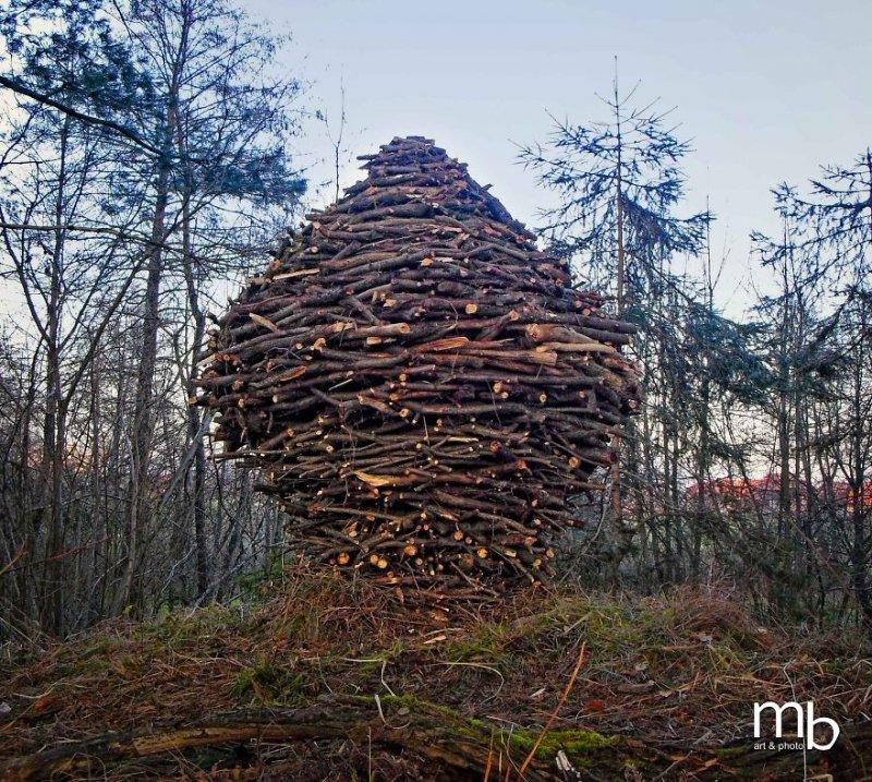 Ландшафтное искусство, которое сливается с природой