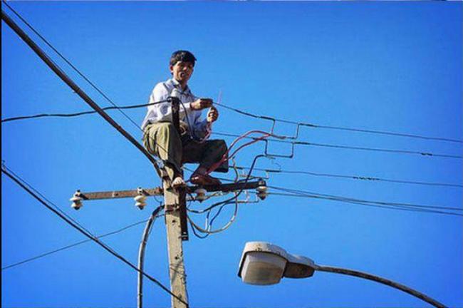 Мужчины, которые не слышали о технике безопасности