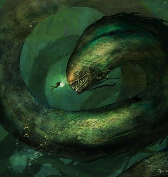 Подводные чудища