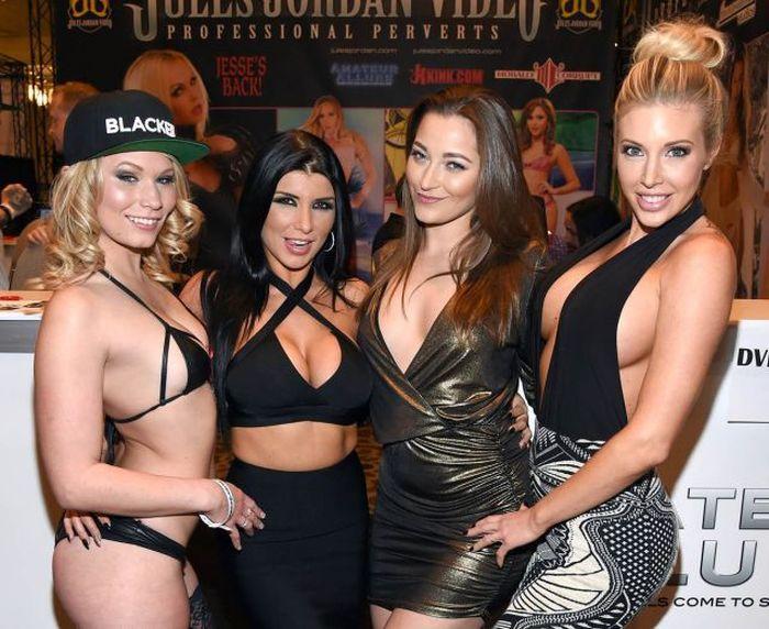 Порно-выставка Adult Entertainment Expo 2015