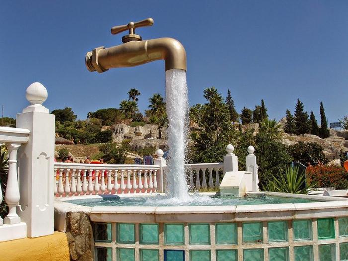 Самые интересные фонтаны со всего мира