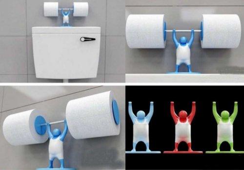 Забавные держатели для туалетной бумаги
