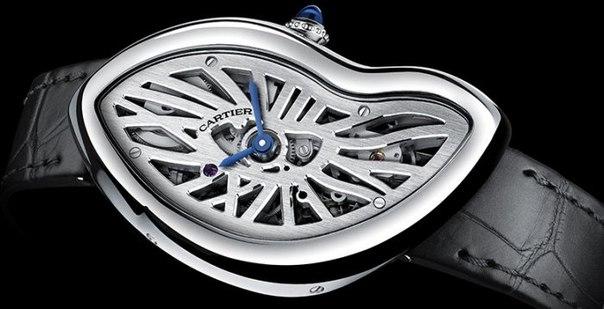 Cartier Crash Skeleton — деформация наручных часов