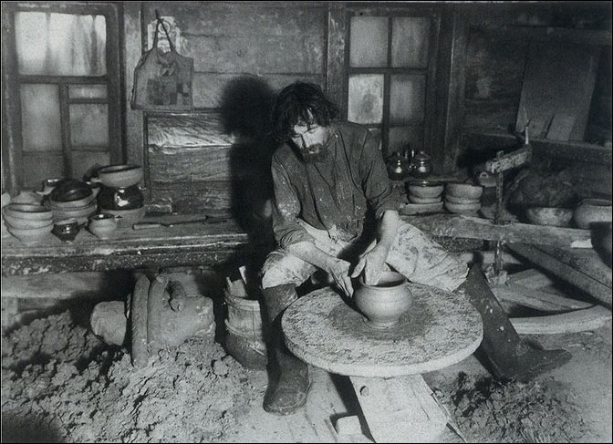 Фотографии сельских ремесленников 1900-х годов