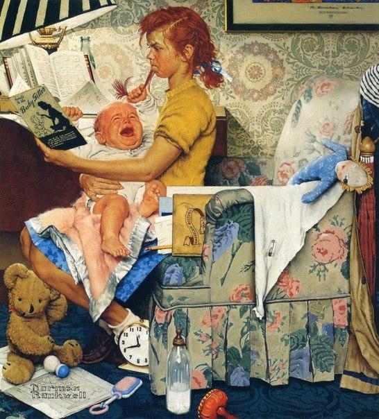 Иллюстрации Нормана Роквелла