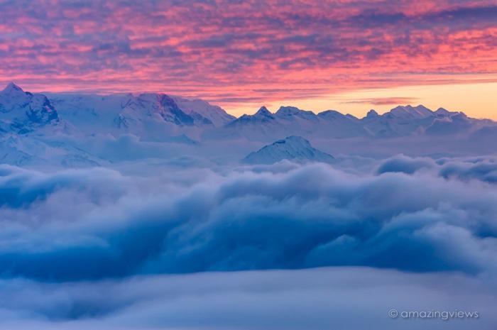Красивые и удивительные фотографии облаков