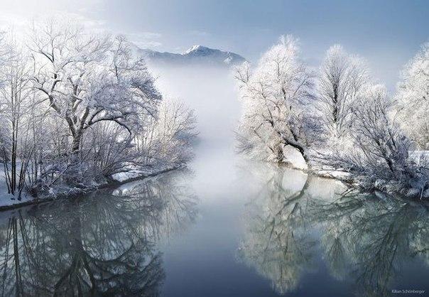 Красота зимних пейзажей