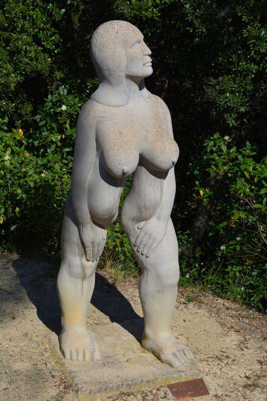 Парк эротической скульптуры в Испании