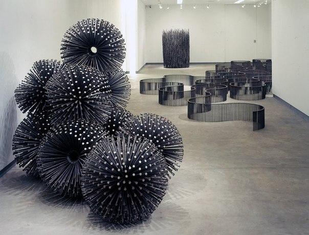 Скульптуры из гвоздей Джона Бизби