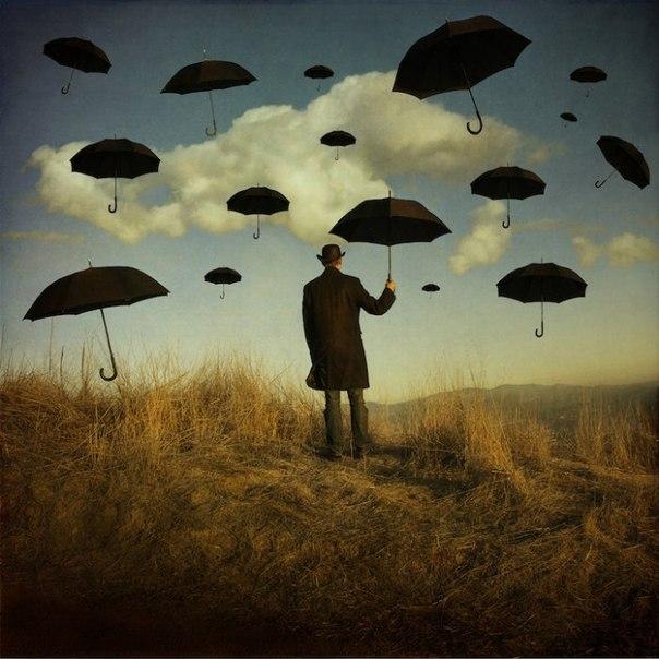 Сюрреалистические фотоманипуляции Трини Шульц