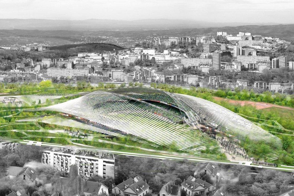 Великолепные стадионы будущего