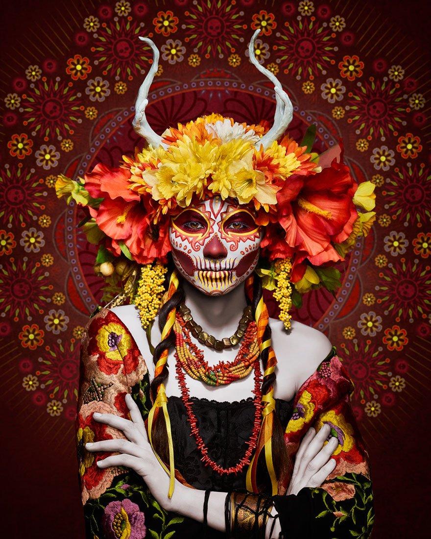 Богиня смерти в фотопроекте Тима Тэддера