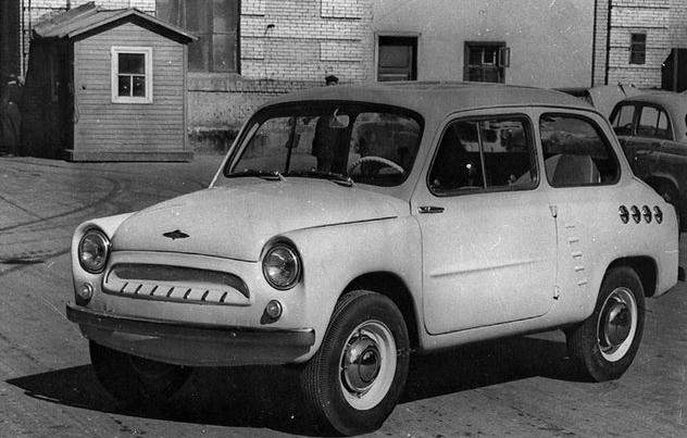 История отечественных машин заднемоторной компоновки