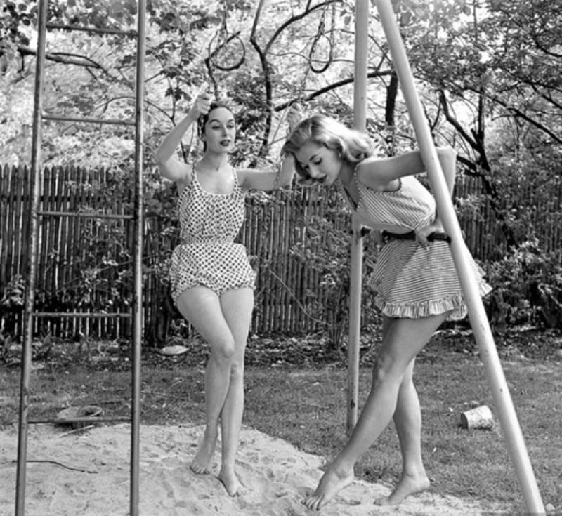 Красивые девушки 50-х годов