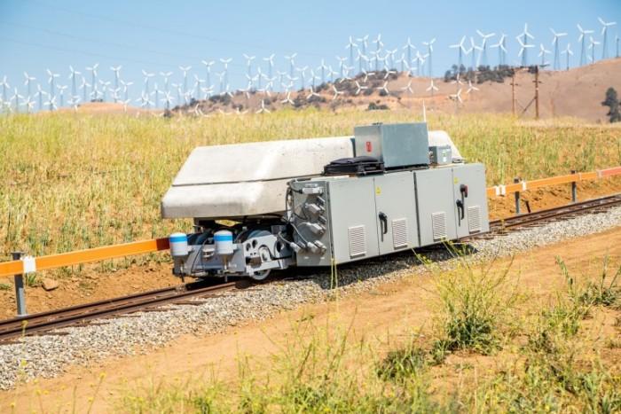 Необычные вагоны накапливают энергию солнца и ветра