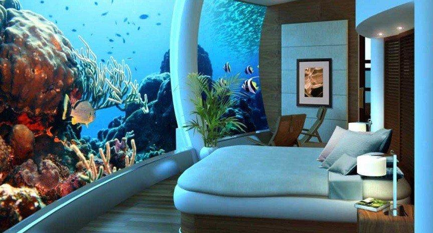 Невероятные подводные сооружения