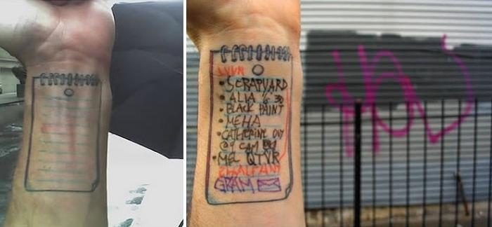 Полезные и практичные татуировки