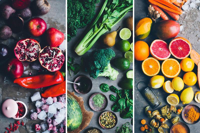 Полезные сочетания овощей и фруктов