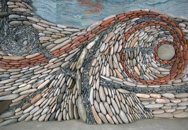 Причудливые каменные мозаики